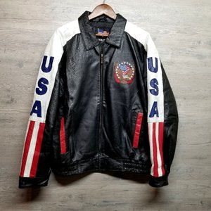 Vintage USA Leather Jacket. Perfect Condition!